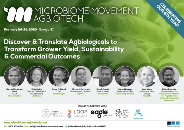 Microbiome Agbiotech front cover
